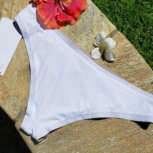 Other - Will The Wave Lululemon Bikini Bottom WHITE SZ 8 ♡